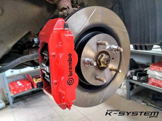 Brembo Brake Pads >> Big Brake Kit – 324×30 + Brembo – front axle Civic IX gen ...