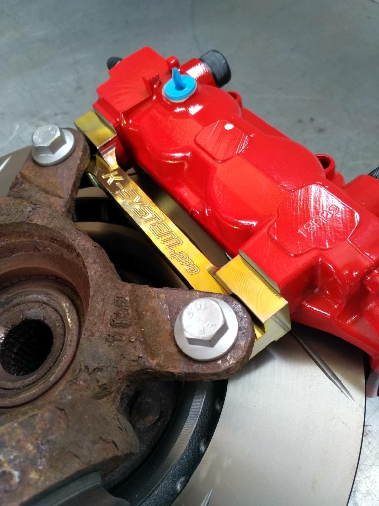 Brembo Brake Pads >> Big Brake Kit – 324×30 + Brembo – front axle Integra DC5 ...