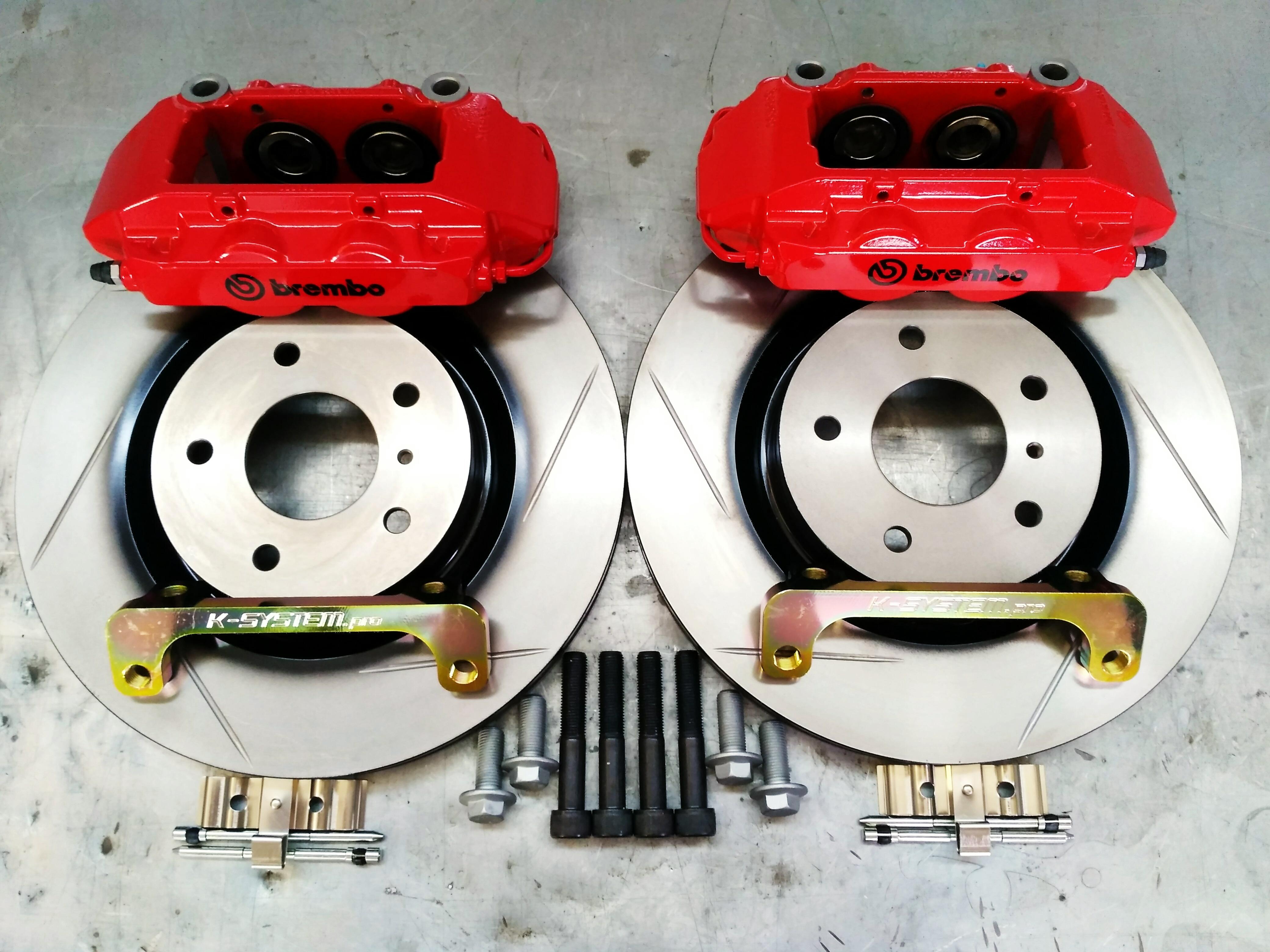 Brembo Brake Kit >> Big Brake Kit 324 30 Brembo Front Axle Mazda 6 Gj Gl 2012
